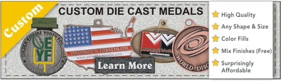Custom Die Cast Medals